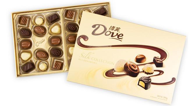 Dove 德芙 精心之选巧克力 礼盒装 280g 情人节礼物 49元包邮