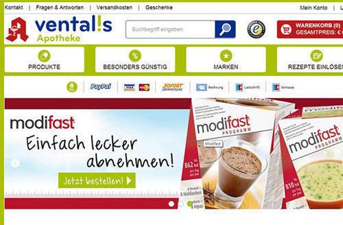 欧罗巴巴德国药店Ventalis购物教程