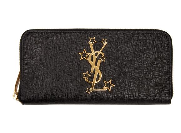 Saint Laurent 圣罗兰经典星星LOGO钱包 $596(约4307元)