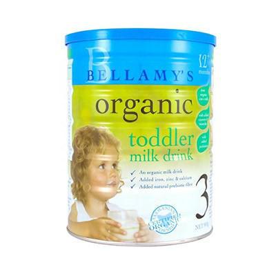 Bellamys 贝拉米 有机婴幼儿奶粉3段 900g,AU$36.99(约¥189)
