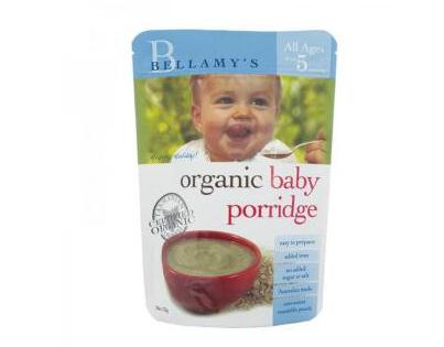 Bellamy's 貝拉米 嬰幼兒有機麥片粥 125g(5個月以上)