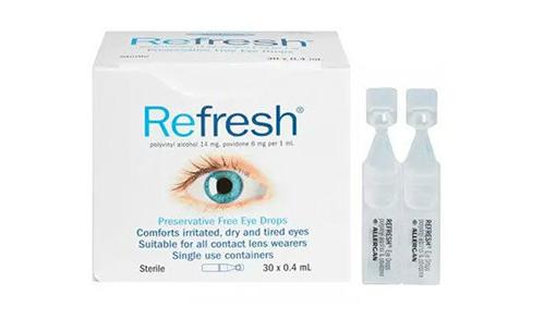 Refresh 滋润滴眼液 30*0.4ml/支(独立装/无防腐剂)