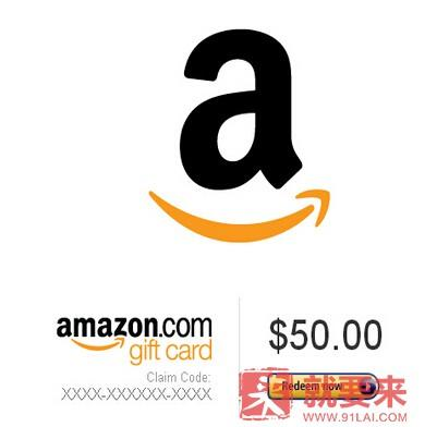 如何购买Amazon com的礼券(Gift Card)