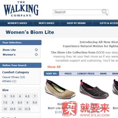 The Walking Company海淘攻略——海淘鞋子网店从注册到下单每一步都配图