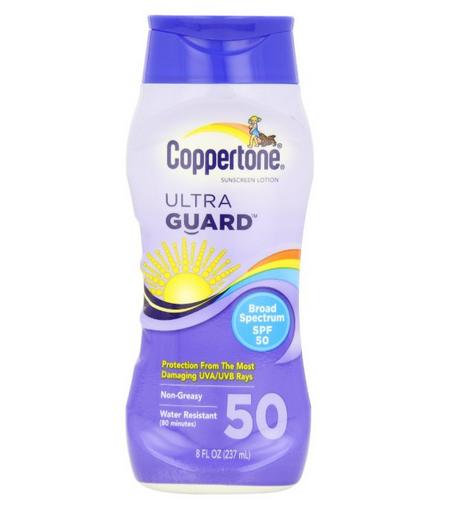 Coppertone 水宝宝超级防护系列芦荟保湿防晒乳50SPF 237ml