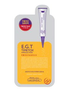 MediHealE G T弹力抗皱针剂面膜介绍