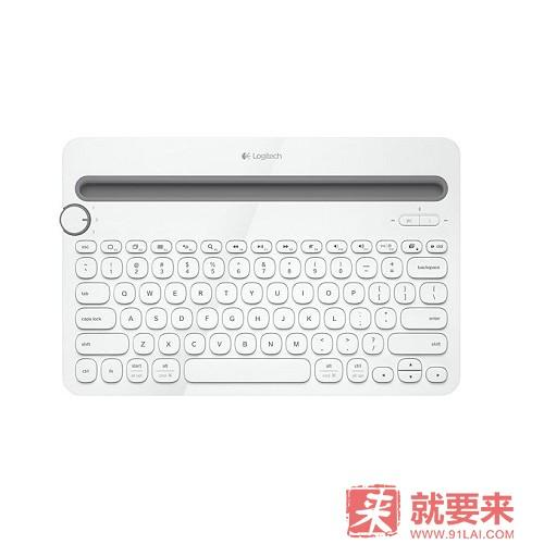 Logitech 羅技 K480 藍牙鍵盤 白色