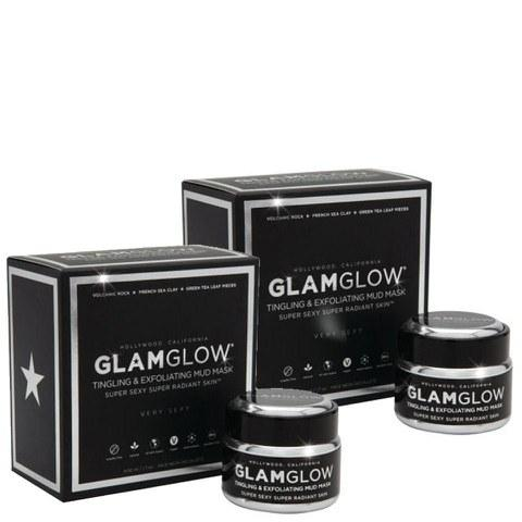 Glamglow 格萊魅火山泥黑泥發光面膜 2*50g