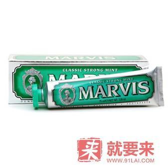 意大利 Marvis 牙膏 薄荷味 114 ml