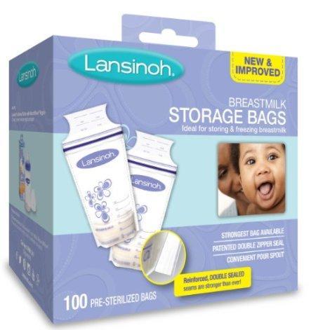 Lansinoh母乳储存袋100只装