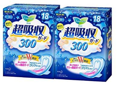 日亞精選:花王樂而雅 新包裝 超吸收 護翼衛生巾