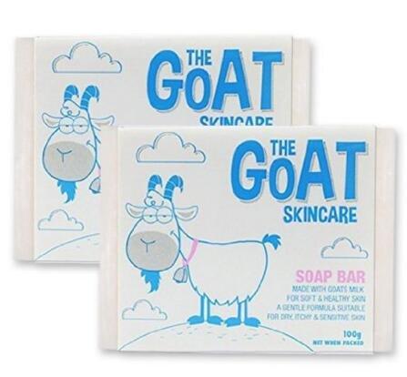 The Goat Skincare 澳洲纯手工羊奶皂组合装原味100g*2