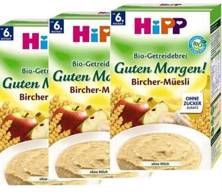 Hipp喜宝有机苹果香蕉荞麦早餐米粉(6个月起) 250g*3盒