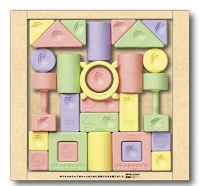 People 日本产 大米积木 幼儿磨牙玩具