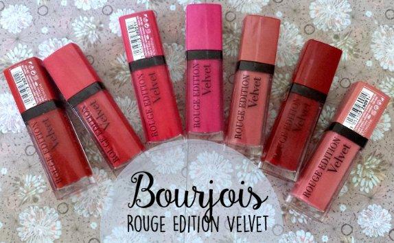 Bourjois妙巴黎天鵝絨唇釉 多色可選