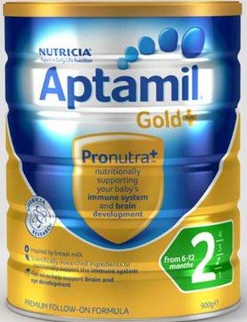 补货好价:Aptamil 爱他美 金装2段奶粉 900g