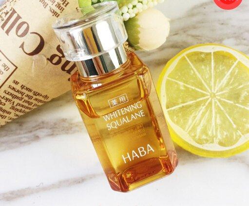 HABA无添加药用美白SQ鲨烷精纯美容黄油 60ml