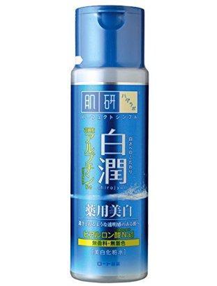 晒后修复:Rohto 肌研 白润药用美白化妆水 170ml
