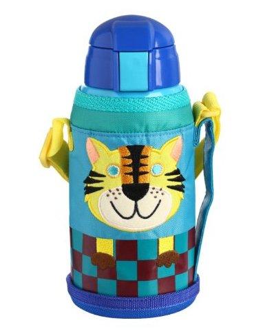 Tiger虎牌 不銹鋼兒童真空保溫杯MML-C06C-CT小老虎(特殊吸管杯頭,更適合幼兒)