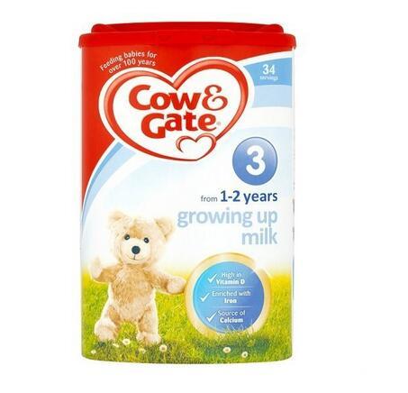 【英国TLC药房】Cow & Gate 牛栏 幼儿配方奶粉3段 (1-2岁幼儿)900g
