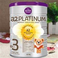【限量补货】A2 白金系列3段幼儿配方奶粉 900g 罐(1-3岁)
