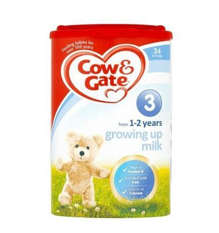 【英国TLC药房】Cow & Gate 牛栏幼儿配方奶粉3段900g
