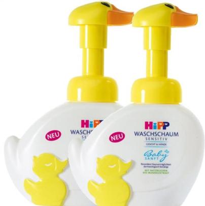 【德国BA药房】2 x Hipp 喜宝免敏无泪宝宝泡泡洗手洗脸液 250ml