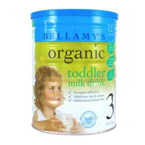 【澳洲P4L药房】Bellamys 贝拉米有机婴幼儿奶粉3段 900g
