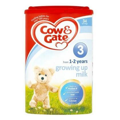 【英国TLC药房】Cow & Gate 牛栏幼儿配方奶粉3段 (1-2岁幼儿)900g