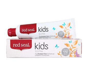 【6件包邮装】Red Seal 红印 儿童牙膏 75g*6支
