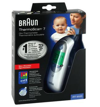 【儿童专用耳温枪】Braun 博朗 耳温枪 IRT6520