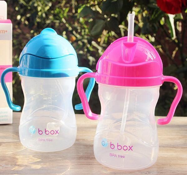 B.BOX婴幼儿重力球吸管杯 防漏 240ml (6个月以上) 多色