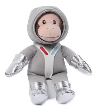 【两件8 5折+立减3美元+免邮】Gund 好奇的乔治猴系列 宇航员公仔