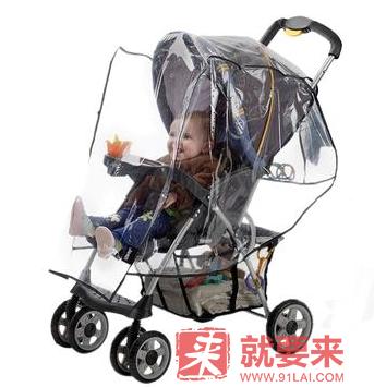 【立減2美元+免郵】Jeep 通用標準嬰兒車耐候簾