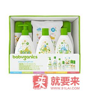 【中亚Prime会员】BabyGanics 甘尼克宝贝 儿童基础护肤7件套装