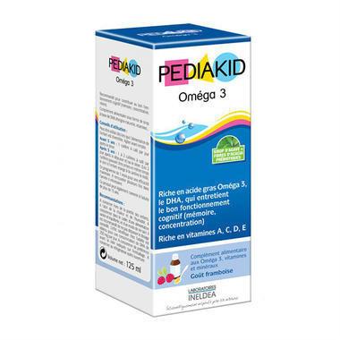 【法國ICP藥房】Pediakid 佩迪克嬰幼兒DHA有機糖漿 125ml