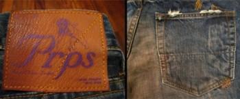 紫制品PRPS牛仔褲真假辨別教程